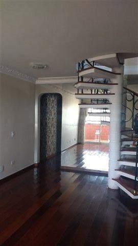 Cobertura à venda em Guarulhos, 3 dorms, 1 suíte, 4 wcs, 5 vagas, 250 m2 úteis