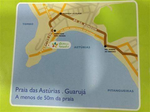 Apartamento à venda em Guarujá, 3 dorms, 1 suíte, 3 wcs, 2 vagas, 117 m2 úteis