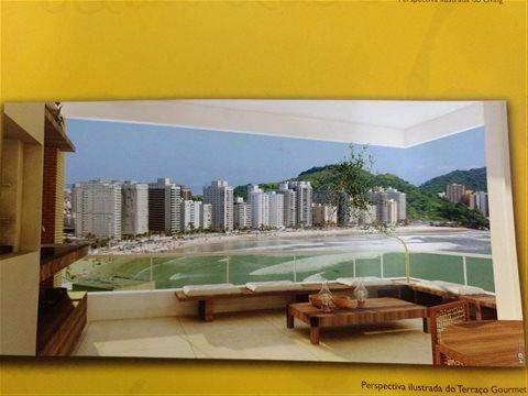Apartamento à venda em Guarujá (Jd Astúrias), 3 dormitórios, 1 suite, 3 banheiros, 2 vagas, 117 m2 de área útil, código 29-834 (foto 2/7)