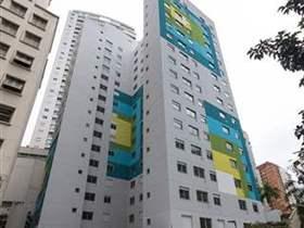 Apartamento 1 dorm, 1 wc, 1 vaga, 29 m2 úteis