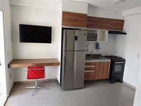 Apartamento 1 dorm, 1 wc, 1 vaga, 37 m2 (total)