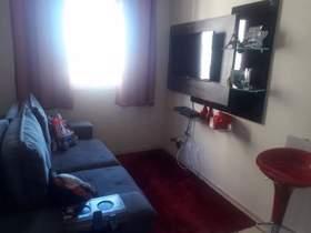 Apartamento em condomínio, 2 dorms, 1 wc, 1 vaga, 45 m2 úteis